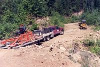 Wood-Mizer Sawmill Delivery to Chatter Creek