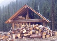 Outdoor Furnace for Chatter Creek Lodges