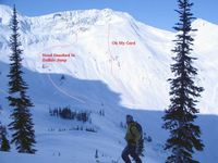 Buffalo Jump and Oh My Gord in SX3 at Chatter Creek Cat Skiing