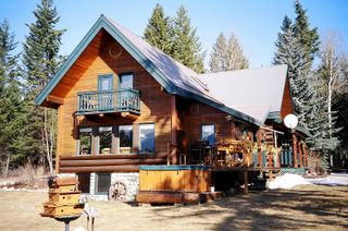 The Kicking Horse Canyon Bed & Breakfast in Golden BC, Canada.