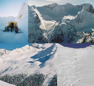 Cat Skiing in the High Alpine