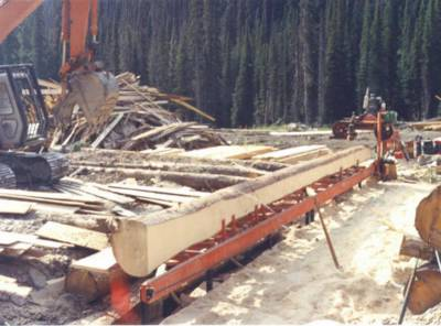 The Chatter Creek Sawmill