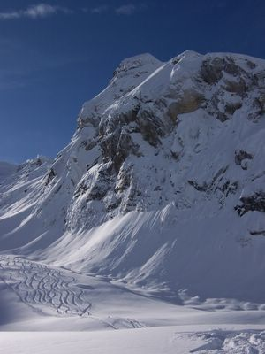 Glacier Skiing at Chatter Creek