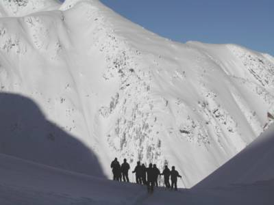 Powder Skiing at Chatter Creek