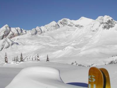 Powder Skiing Terrain at Chatter Creek