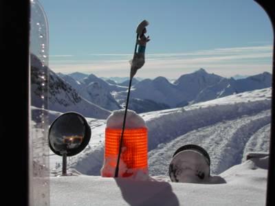 Chatter Creek Snowcat Skiers get Great Views