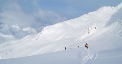 Upper Lodge Ridge at Chatter Creek Cat Skiing