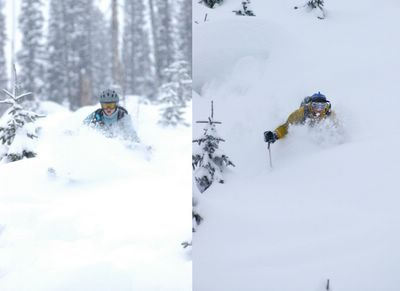 Deep Powder at Chatter Creek