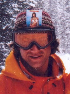 Chatter Creek Tail Gunner and ski area consultant, Pete Tashman