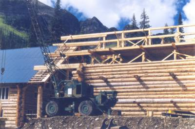 Solitude Lodge Construction