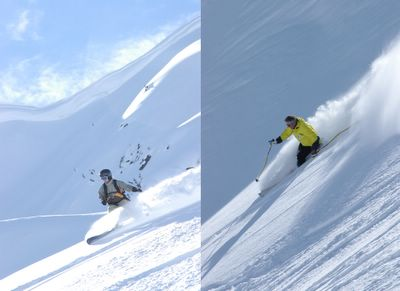 Powder Skiing and Snowboarding at Chatter Creek