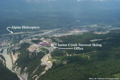 Chatter Creek Office Location in Golden BC