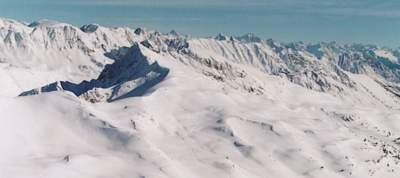 Cat Skiing Terrain in the High Alpine