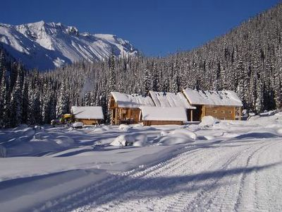 The Cat Skiing Lodges at Chatter Creek