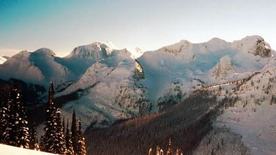 West Side Panorama at Chatter Creek Cat Skiing