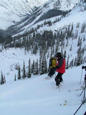 Tree Skiing at Chatter Creek