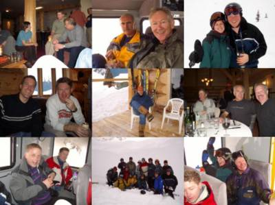 Snowcat Skiing and Lodge Life at Chatter Creek candid shots