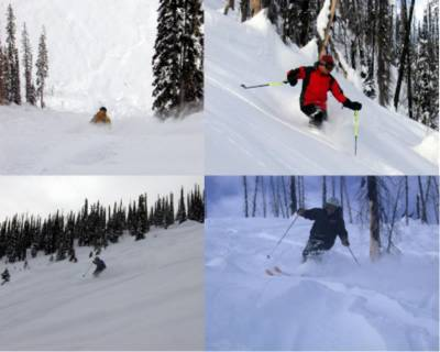 Cat Skiing at lower elevations