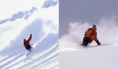 John Dougall Ski Photography at Chatter Creek