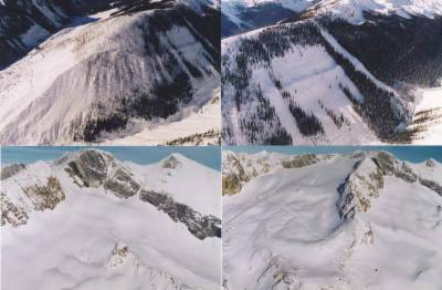 Cat Skiing Terrain in the Rocky Mountains