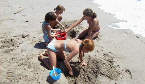 Sand Fleas vangen