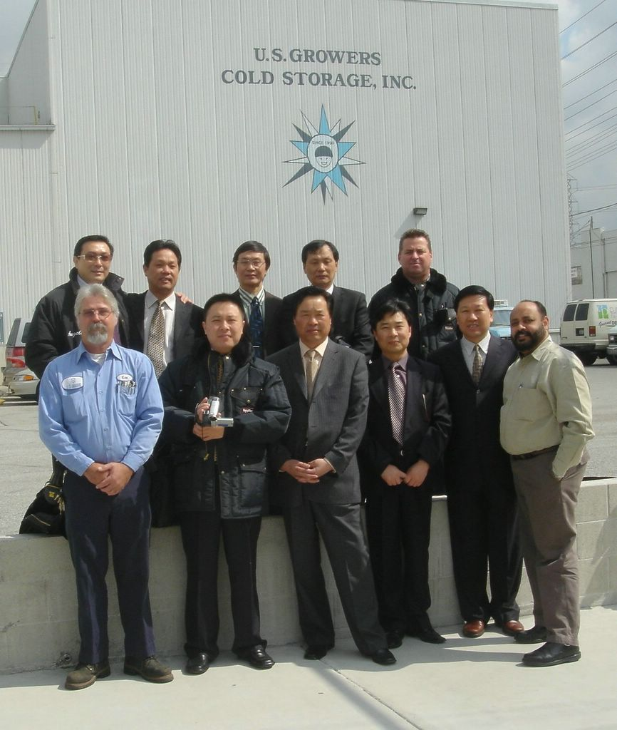 Sarw Delegation Visiting Us Growers Cold Storage Pictures By Keith Sunderlal