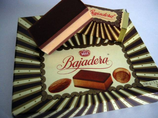 Bajadera Kras uk Kras Bajadera Chocolates