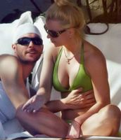 Britney Spears with husband