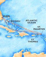 Carnival's Eastern Caribbean trip
