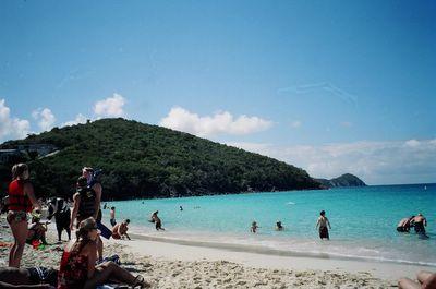 Coki Beach USVI