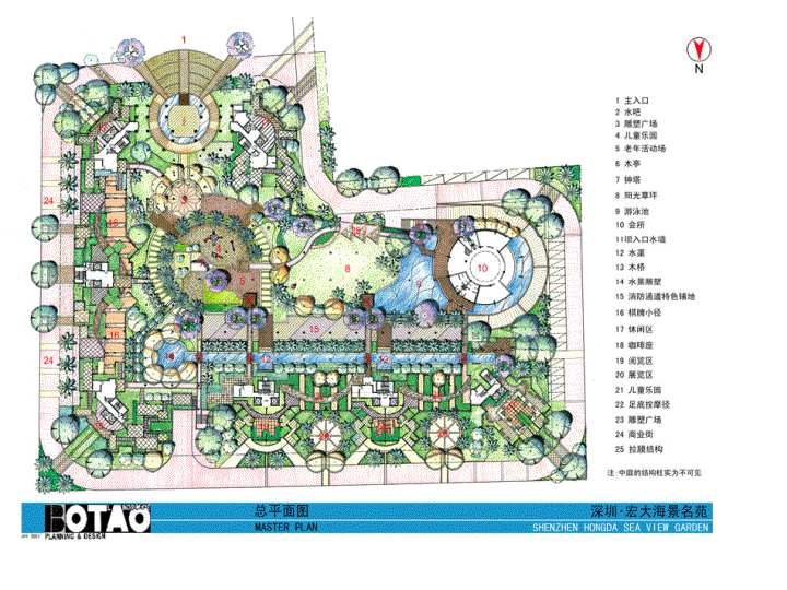 Master Plan Color Posted By Hello Diagram Images Construction Drawings Labels Landscape Architecture Projects