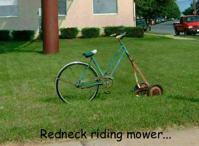 Redneck Mower