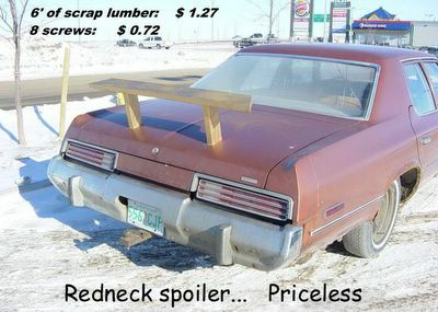 Redneck Spoiler
