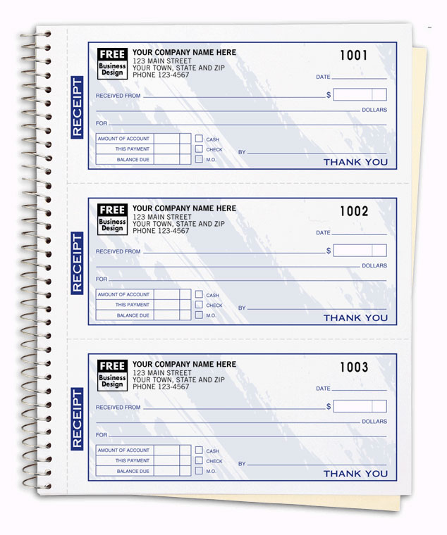Receipt Books – Payment Receipt Book