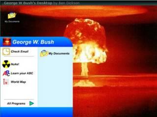 Bush's Desktop