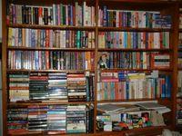 Entire bookshelf