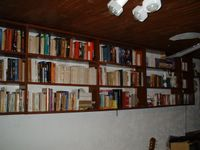 Entire bookshelf