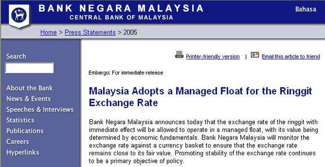 Bnm forex rate