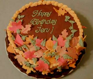 Images Of Birthday Cake With Name Simran : simran bakehouse: FALL BIRTHDAY CAKE