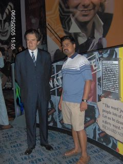 Richard Nixon - Wax Museum