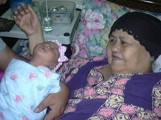 My Grandma and BabyHana