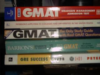 GMAT Books for Sale