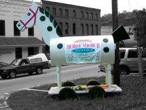 The Tryon, NC Rocking Horse, Morris