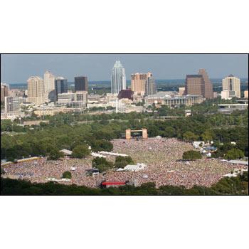 Zilker Park-Austin, Tx