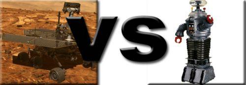 Rover vs Robot