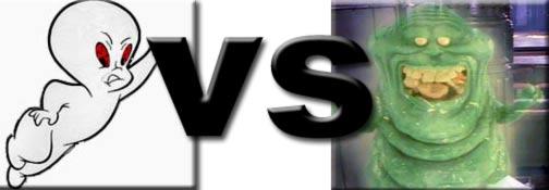 Slimer vs Casper