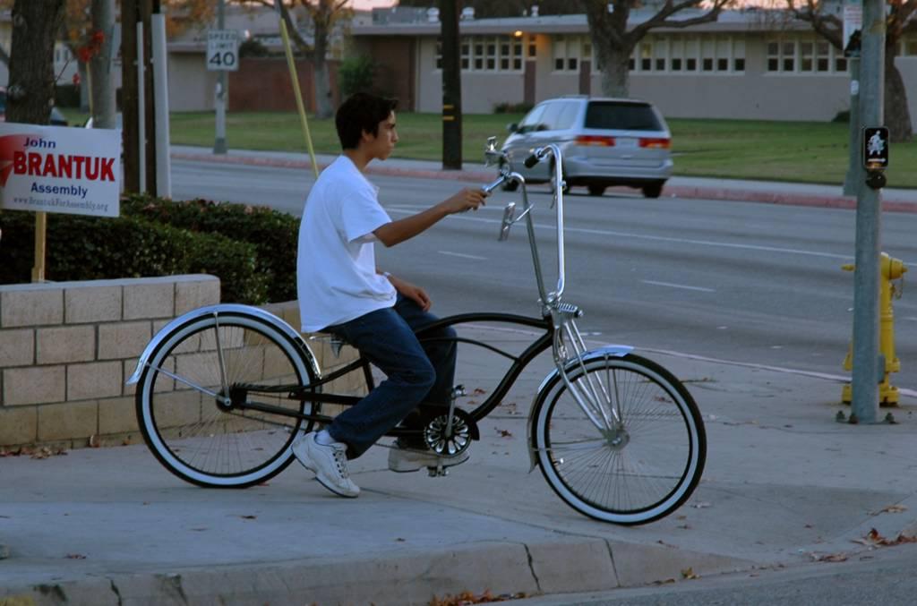 Deep Thoughts: Lowrider Bike