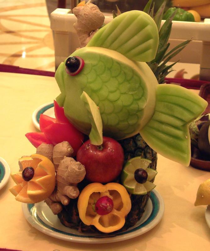 Поделка торт из овощей 93