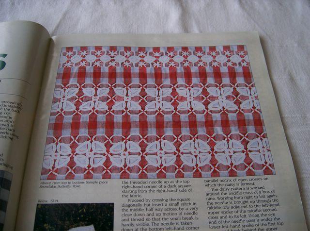 Smockerysmart My Embroidery Blog Chicken Scratch