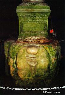 Medusa, inside the Basilica Cistern. Istanbul (Turkey)